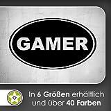 Gamer Wandtattoo in 6 Größen - Wandaufkleber Wall Sticker