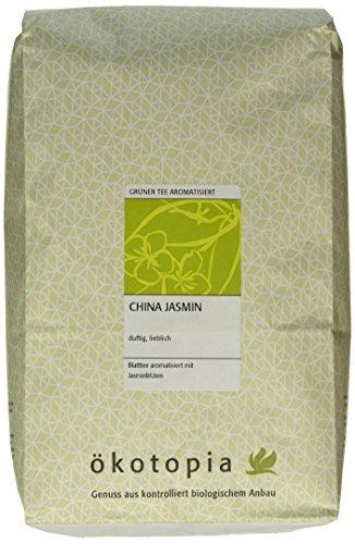 Ökotopia Grüner Tee aromatisiert China Jasmin, 1er Pack (1 x 1000 g)