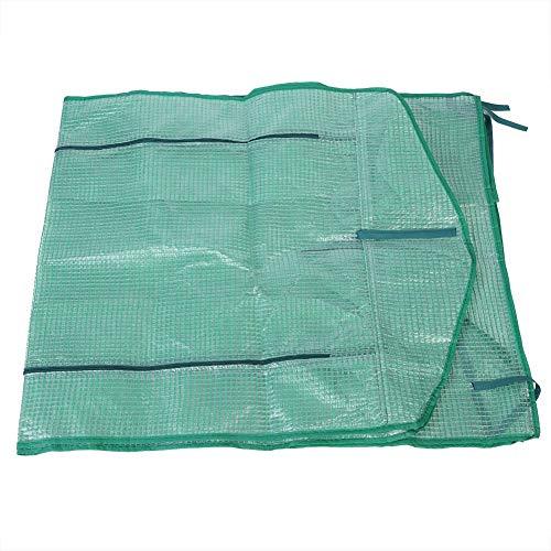 Rodipu Invernadero cálido, casa de jardín Profesional de plástico, para Equipos de Invernadero Suministros de Invernadero(69 * 49 * 160cm)