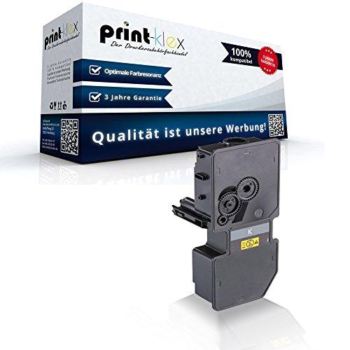 Print-Klex Tonerkartusche kompatibel für Kyocera ECOSYS M5521cdn M5521cdw P5021 P5021cdn P5021cdw P5021Series 1T02R90NL1 TK5220 TK 5220 TK-5220 K TK 5220 K Schwarz Black - Office Quantum Serie