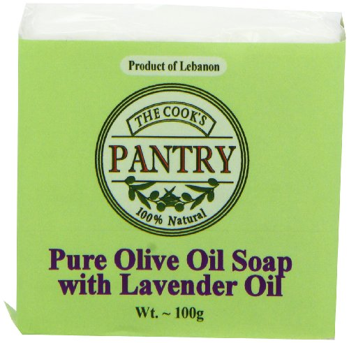 Koken Eetkamer Hand Made Pure olijfolie zeep met lavendel olie 100 g (3 stuks)