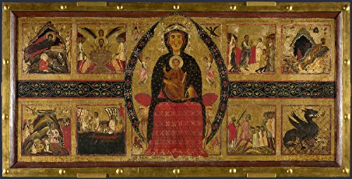 Gifts Delight Laminated 47x24 Poster: Cimabue - XIII Century Art on Florence Italy, Florence and San Francisco