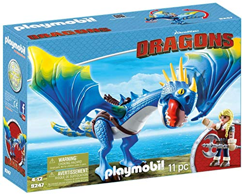 PLAYMOBIL DreamWorks Dragons Astrid y Tormenta