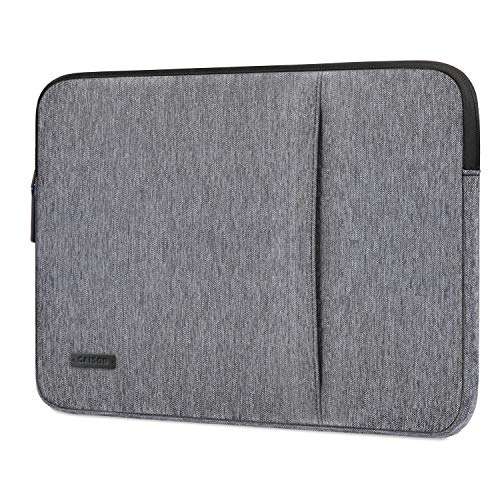 "CAISON 11.6-12.3 inch Laptop Sleeve Case for New 12.3"" Microsoft Surface Pro 7/12.3"" Google Pixel Slate / 11.6"" Lenovo IdeaPad S130 Yoga 330 / ASUS Chromebook C223 E203MA / Acer Spin 11"