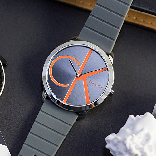 Calvin Klein Minimal Black Dial Men's Watch K3M211T3