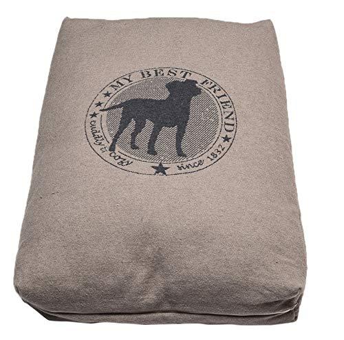 David Fussenegger Hundekissen Hundedecke Best Friend Cuddle & Cozy mit Füllung 60 x 90 cm
