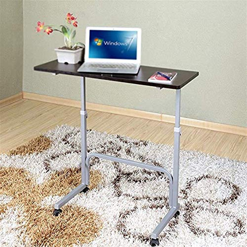 Mesa plegable Sencillo escritorio del ordenador portátil desmontable portátil cama Escritorio sofá simple desayuno bandeja Lazy portátil ajustable soporte móvil cama del escritorio del ordenador de es