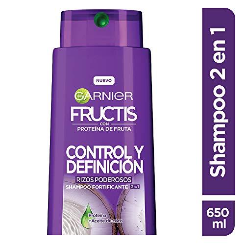 Shampoo Cabello Rizado marca Garnier Fructis