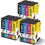 Clorisun T1295 - Cartuchos de tinta para Epson Stylus BX305FW SX235W B42WD SX438W SX525WD SX620FW BX320FW BX625FWD BX630FW BX925FWD SX435FWD SX438FWD SX438W W BX305 FW Plus WF 7525.