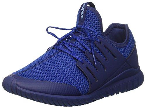 adidas Tubular Radial J, Zapatillas de Gimnasia Unisex Adulto, Azul (Dkblue/Croyal/LtBlue Dkblue/Croyal/LtBlue), 36 EU