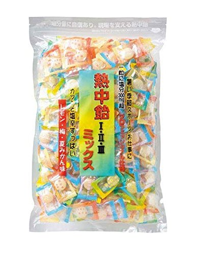 熱中飴 ミックスⅠ・Ⅱ・Ⅲ 1kg入 ユニット HO-333
