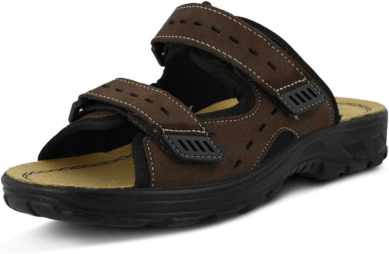 Spring Step Men's Filmore Black sandals 44 M