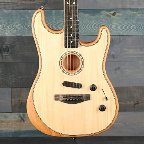 Fender Acoustasonic Stratocaster Natural w/Premium Gig Bag