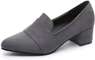 [エアバイ] スエード パンプス 靴 シンプル 履きやすい 通勤 通学 OL 美脚 レディース