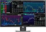 Dell P4317Q 43 Inch 4K UHD (3840 x 2160) LCD LED Backlit IPS Multi-Client Monitor with HDMI, VGA, DisplayPort, RS232 and Integrated Speakers
