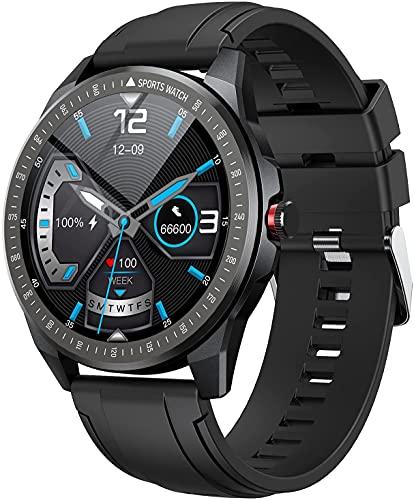 Smartwatch, Reloj Inteligente con 10 Modos de Deporte, Pulsómetro, Cronómetros, Monitor de Sueño, Podómetro Monitores de Actividad Impermeable IP68 Smart Watch Hombre Reloj Deportivo para Android iOS