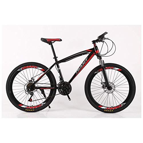 CENPEN Deportes al Aire Libre de la Bici de montaña Unisex/Bicicletas 26 '' Estructura Ligera de Acero de la Rueda HighCarbon 2130 plazos de envío Shimano Freno de Disco, 26'