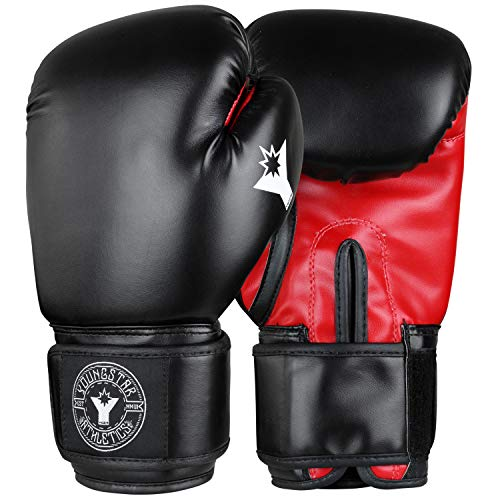 Combat Corner Youngstar 8 oz Boxing Gloves for Kids - Kids Boxing Gloves for Children and Youth Ages 6-12 Years | Kickboxing, MMA, Muay Thai Sparring and Training Gloves