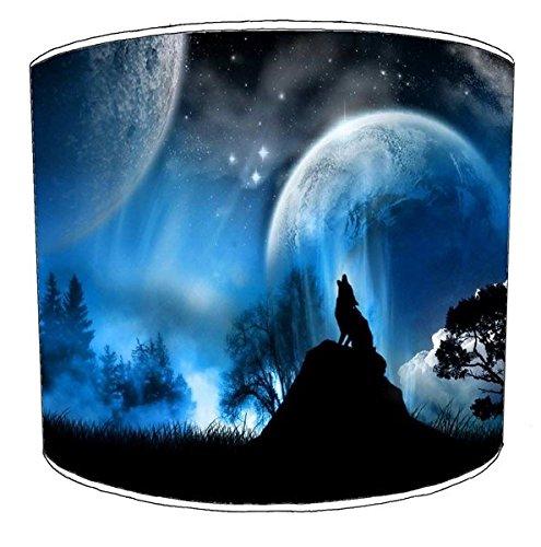 Premier Lighting Ltd 30cm Wolf Lampenschirm 7 Für eine Deckenleuchte