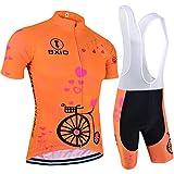 BXIO Mujeres Ciclismo Traje Jerseys XXXL Naranja