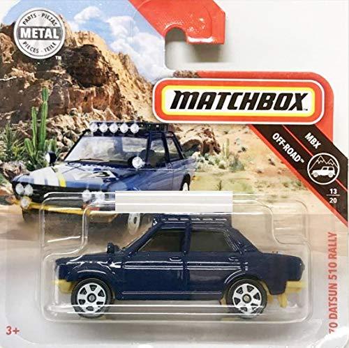 Matchbox* '70 Datsun 510 Rally - 1:64 - Nachtblau