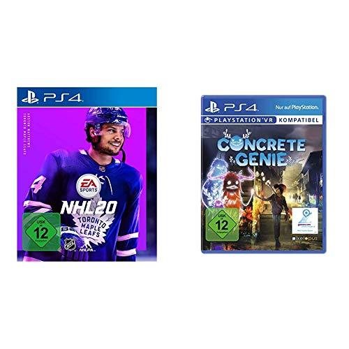 NHL 20 - Standard Edition - [PlayStation 4] & Concrete Genie [PlayStation 4]