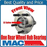 ONE New REAR 32 Spline Wheel Hub Bearing for Chrysler 300 09-14 Rear Solid Rotor
