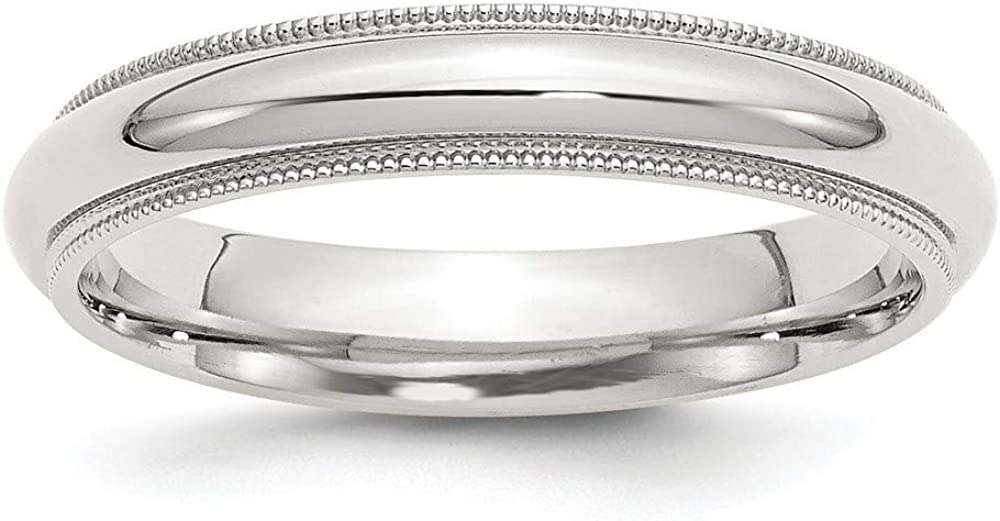 925 Sterling Silver Bombing free shipping Fashionable Millgrain Comfort Ring Jewelry Gift Fit Band