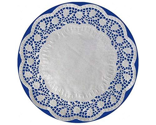 1-PACK Deko-Tortenspitzen, Tortenunterlagen rund Ø 22 cm, 100 Stück