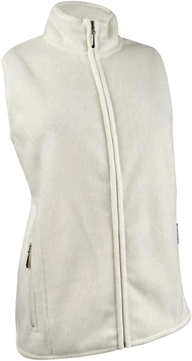Karen Scott Women's Plus Size Zip-Front Vest