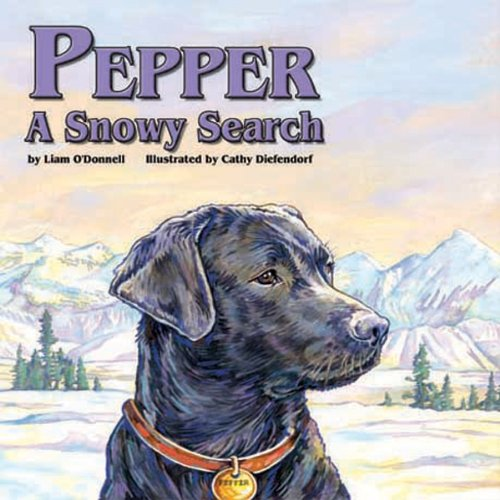 Pepper: A Snowy Search audiobook cover art
