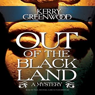 Out of the Black Land audiobook cover art