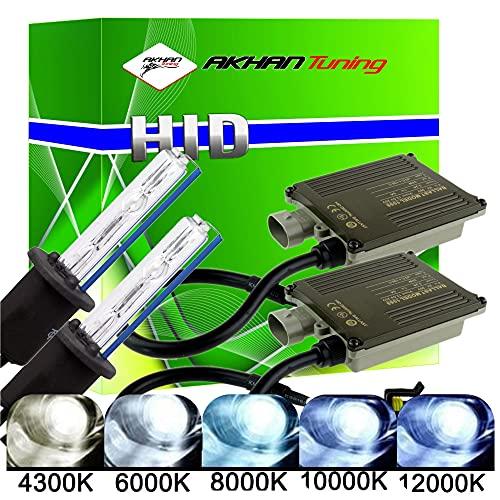 Akhan Digital 9-32 v 35W cANBUS xénon h1 10000 k kit kit d'extension avec xénon hID Ballast brûleur/Lampe et de Montage matériau sans Message d'erreur, Pas de Scintillement