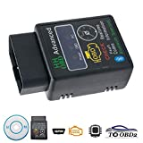 OBD2 Bluetooth Diagnostic Car scanner/Reader tool, Maso Wireless ELM327 V2.1 Android Torque Auto Scan Tool