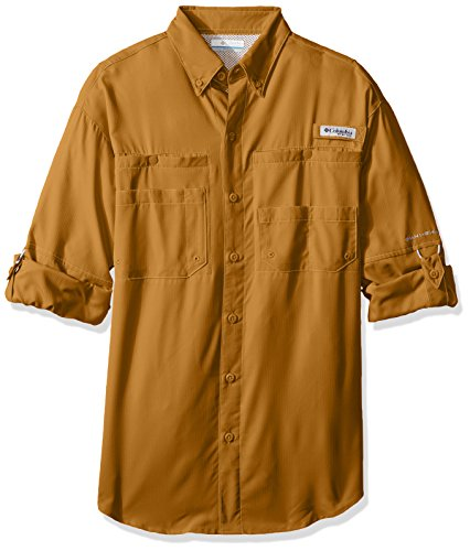 Columbia Sportswear Men's Tamiami II Long Sleeve Shirt, Pilsner, Small