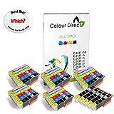 Colour Direct 35 XL (5 Sets+5 Black) Compatible Ink Cartridges Replacement For Epson