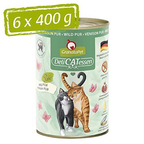 GranataPet Delicatessen Wild PUR 6X 400g, 2.4 kg