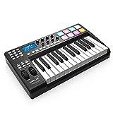 Asdomo PANDA25 Tastiera MIDI USB a 25 tasti compatta Controller 8 RGB Trigger retroillumin...