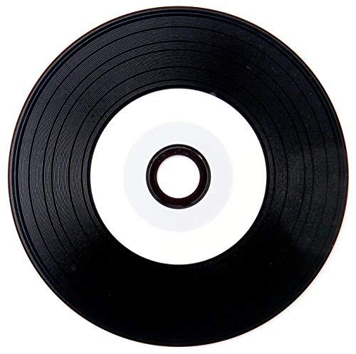 Einzeln 1 Euro - CD Rohling Vinyl CD-R 700 MB 80 Min. 52x High Speed - Bedruckbar Printable