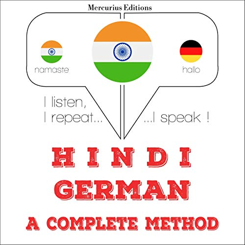 Hindi - German. a complete method cover art