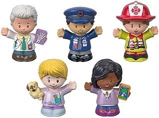 Paquete de figuras de ayudantes de la comunidad de Little People
