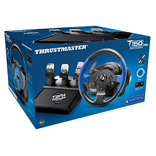 Thrustmaster T150 RS Pro Force Feedback Wheel (PS4/PS3/PC) - [Edizione: Regno Unito]