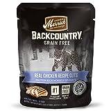 Merrick Backcountry Grain Free Wet Cat Food, 3 Oz, 24 Count