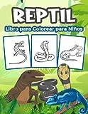 Reptiles Libro para Colorear para Niños: Gran Libro de Actividades de Reptiles para Niños y Niñas. Regalos perfectos de reptiles para los niños y los niños pequeños
