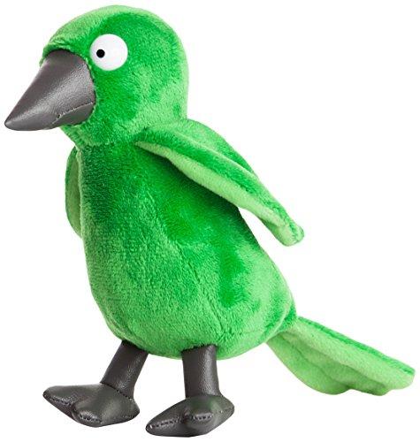 Aurora World Aurora, 60354, Für Hund und Katz ist auch noch Platz-Vogel, 18cm, Plüschtier, Grün