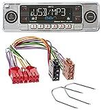 caraudio24 Dietz BOA Retro_200_BT Bluetooth USB SD MP3 CD Autoradio für Renault R5 R19 R21 Espace bis 1993