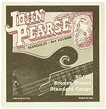 John Pearse P2100M Bronze Acoustic Guitar Strings, Medium