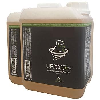 Ecodor UF2000 Anti-odeurs pour Animaux domestiques 2 x 2,5 l