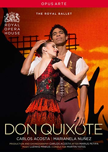 Minkus: Don Quixote (Ballet) [Martin Yates, Carlos Acosta, Cast and Orchestra of the Royal Opera House] [DVD] [2014] [NTSC]