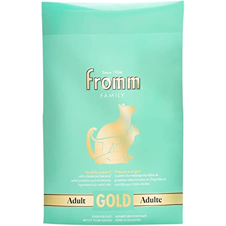 Fromm Gold Adult Dry Cat Food, 4-Pound Bag